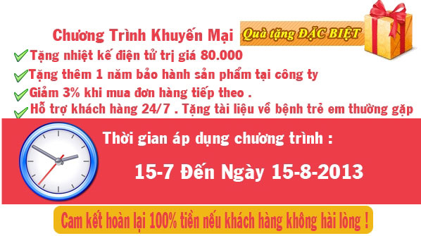chuong trinh khuyen mai may do huyet ap omron hem 6203