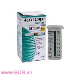 Que thử đường huyết accu-chek active