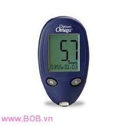 Máy đo đường huyết Optium Omega