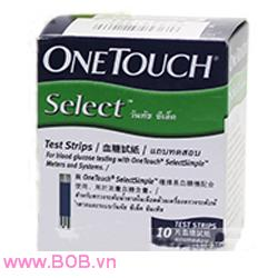 Que thử đường huyết OneTouch Select Simple