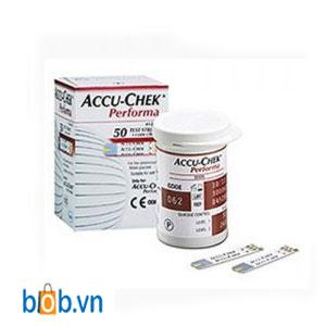 Que thử đường huyết Accu-chek Performa 50 que