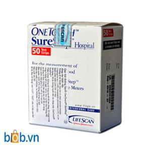 Que thử tiểu đường OneTouch Surestep
