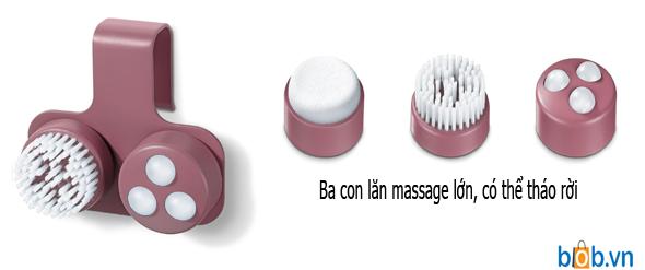con lan massage beurer fb35
