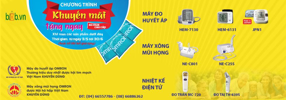Khuyến mãi chào hè thiết bị y tế Hải Nam 2016