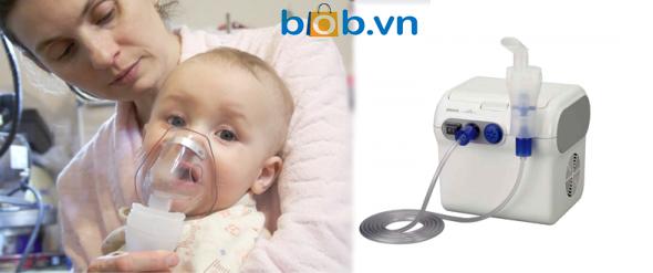 Có nên dùng máy xông khí dung cho bé không?
