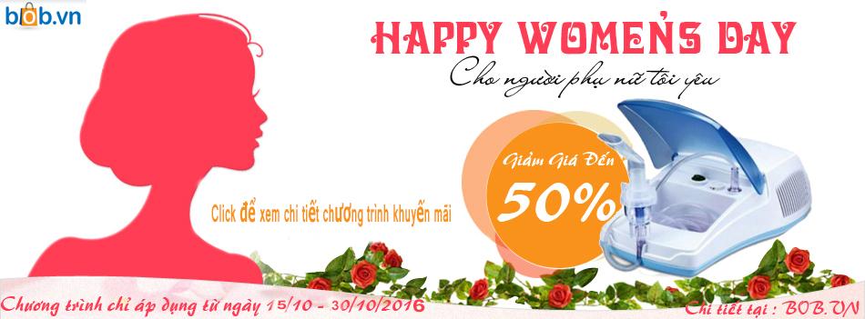 khuyến mại nhân ngày phụ nữ Việt Nam