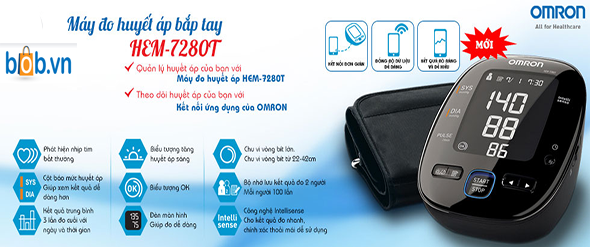 may do huyet ap dien tu omron hem 7280t
