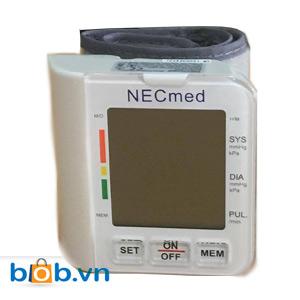 Máy đo huyết áp cổ tay Necmed LX-800