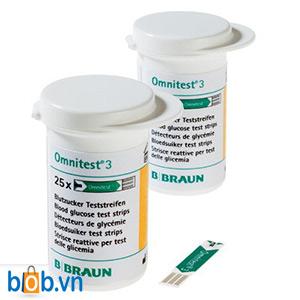 Que thử đường huyết B-Braun Omnitest 3