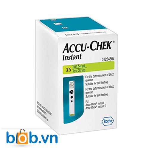 Que thử đường huyết Accu-Chek Instant